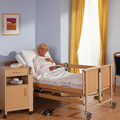 Picture of an adjustable bed