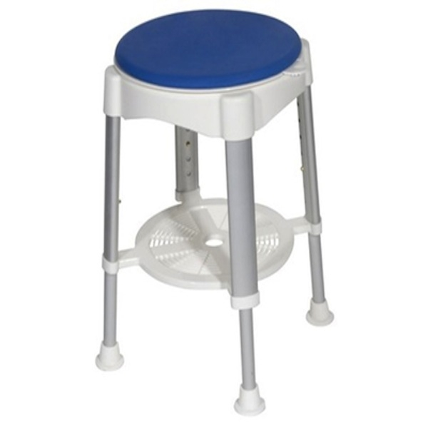 Shower Stool with Rotating Seat