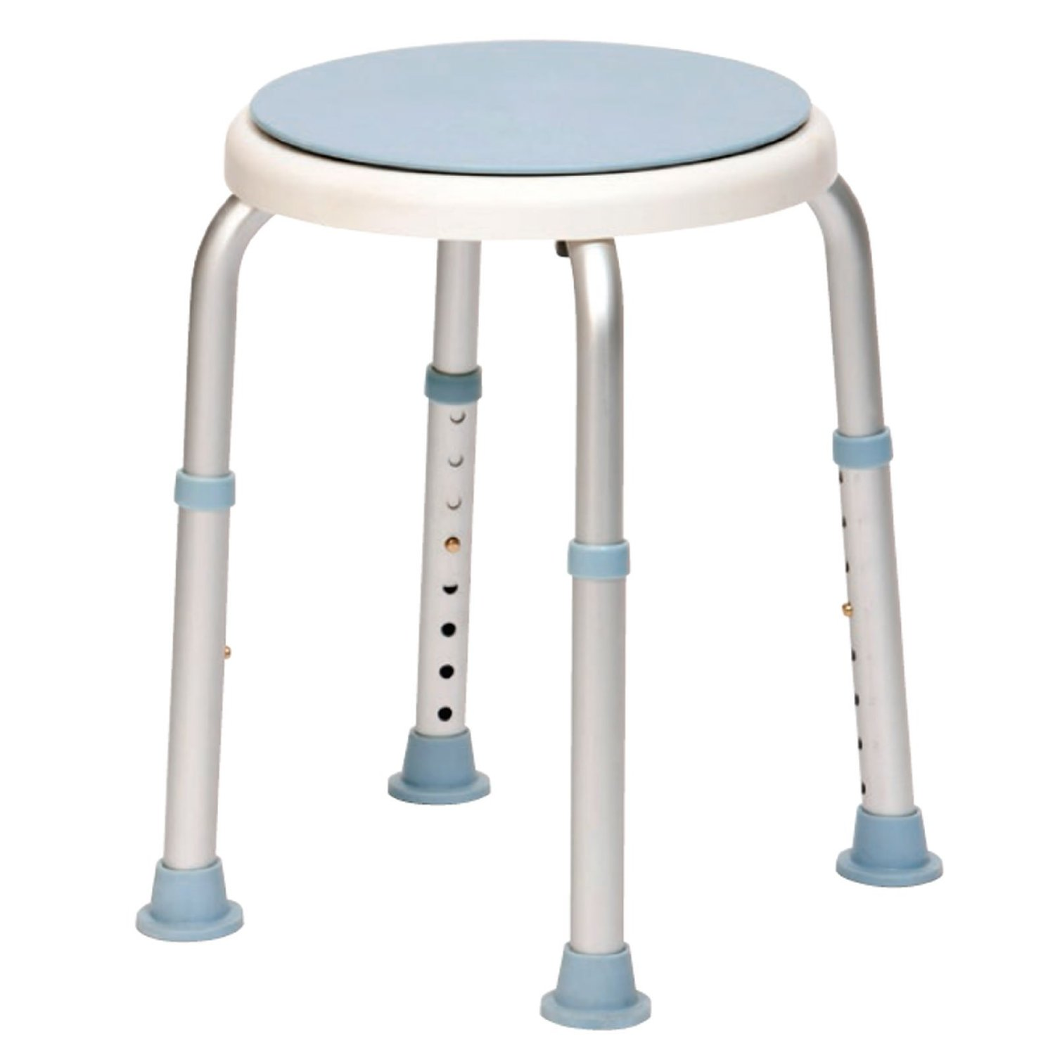 Shower/Bath Stool with Rotating Seat
